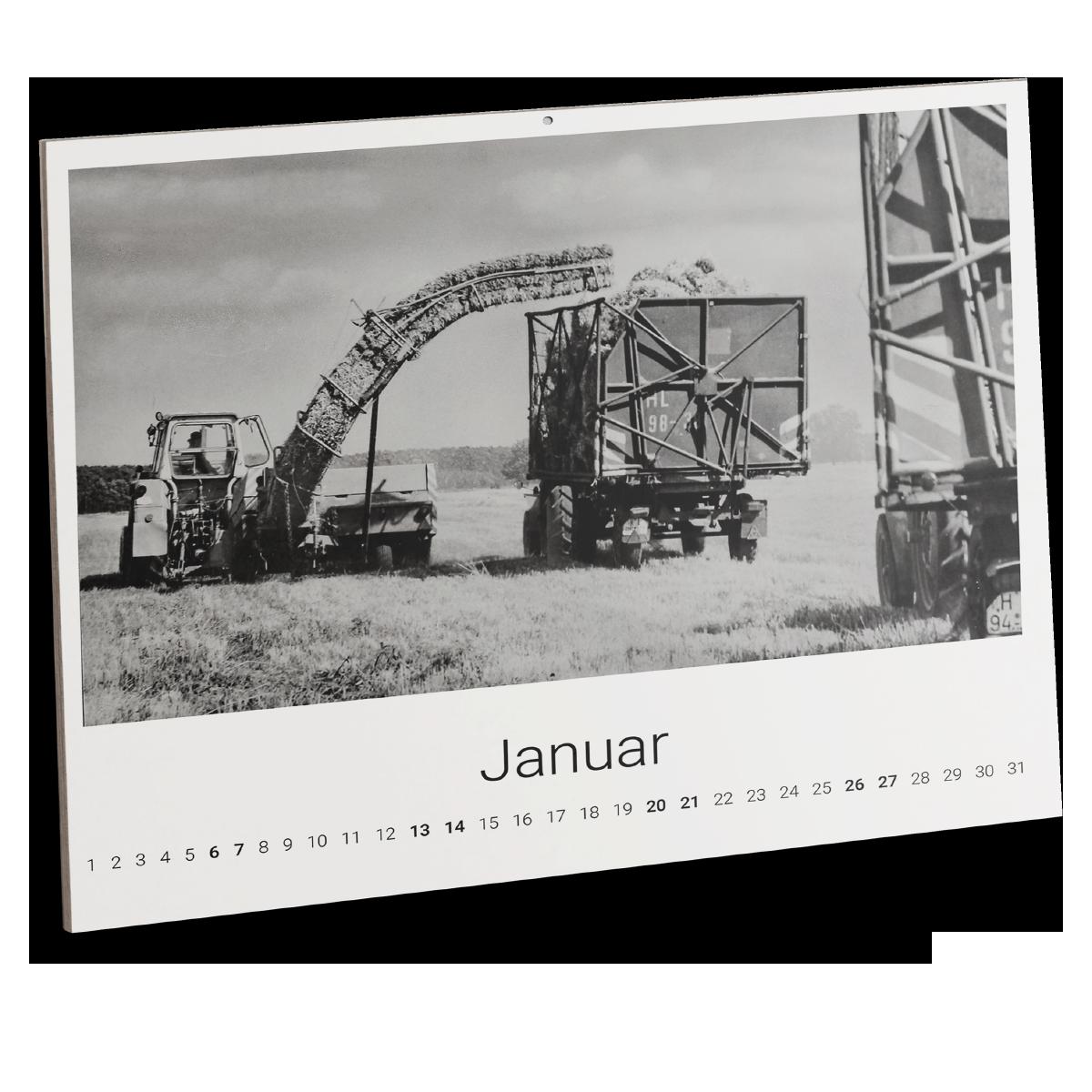 DDR-Landmaschinen Kalender 2021
